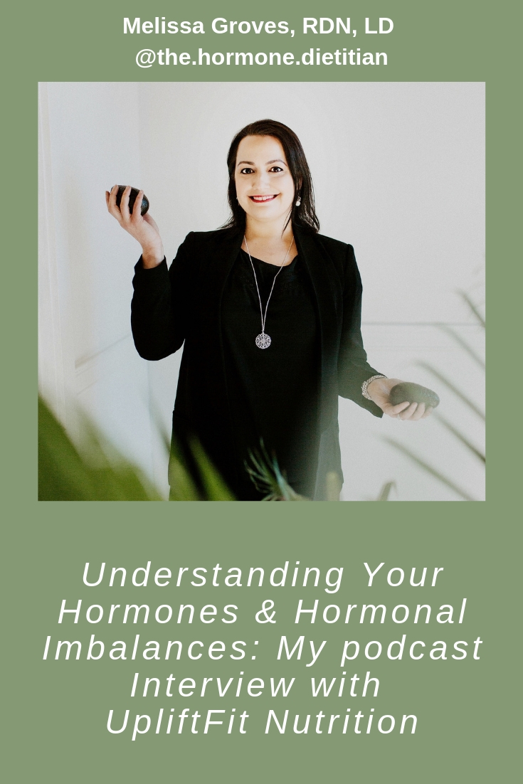 Melissa Groves Hormone Dietitian media