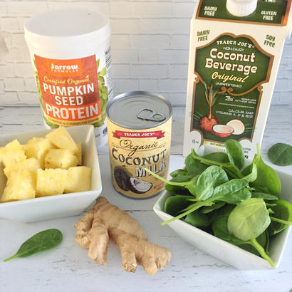 coconut milk pumpkin protein ingredients