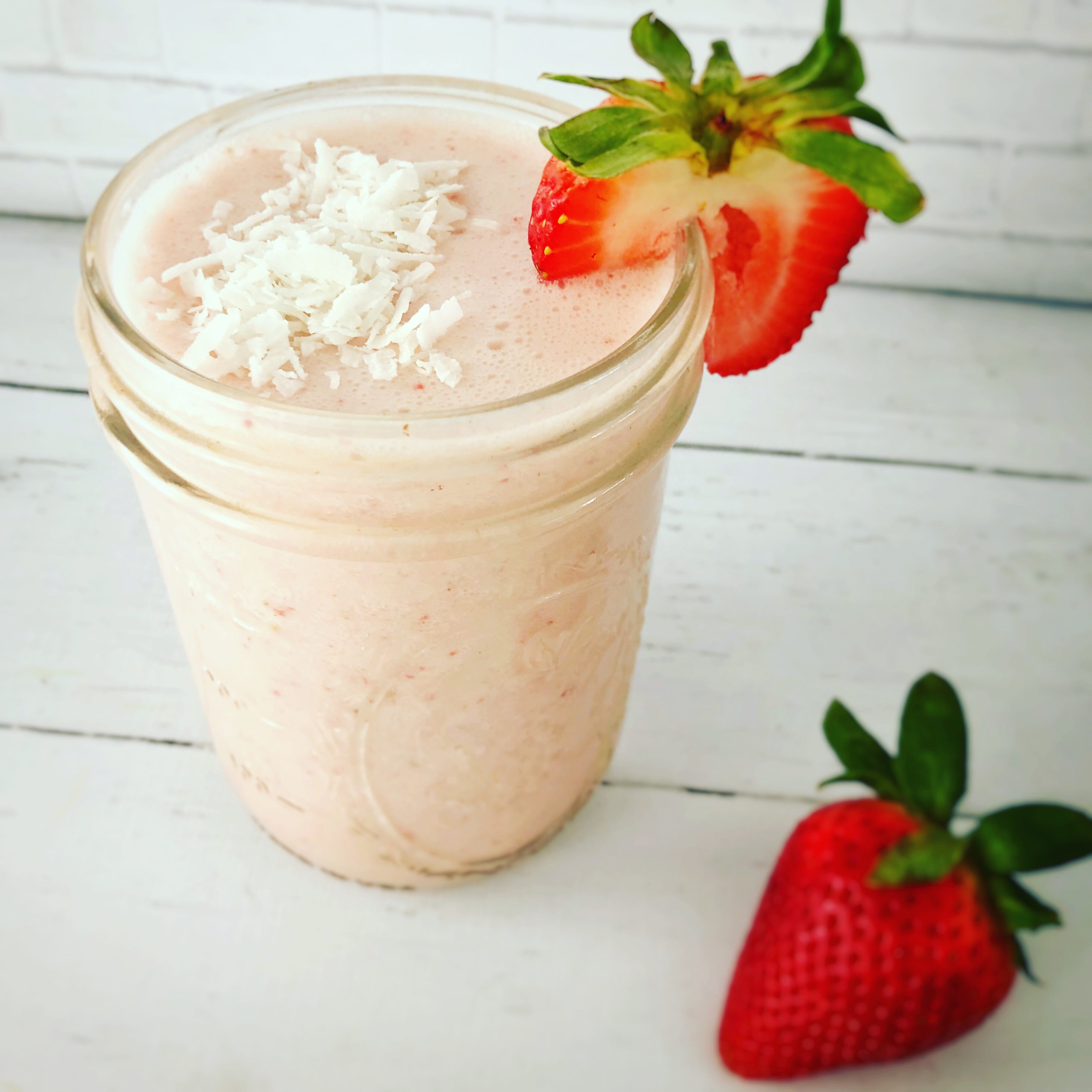 The KISS strawberry smoothie