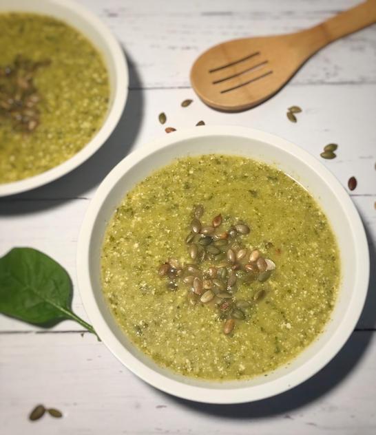 Spring clean soup 2 bowls