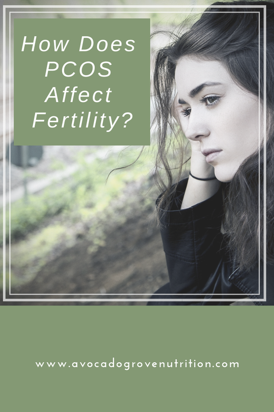 PCOS fertility struggle pregnancy miscarriage nutrition